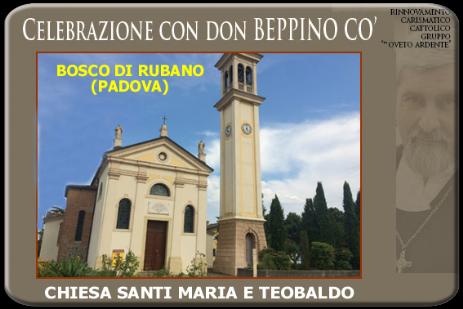 Calendario Cattolico.Calendario Incontri Don Beppino Co Bosco Di Rubano Pd